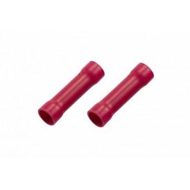 Соединительная гильза изолированная L-32 мм 6-10 мм² (ГСИ 10/ГСИ 6,0-10,0) красная REXANT