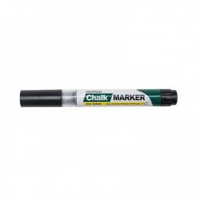 Маркер меловой MunHwa «Chalk Marker» 3 мм, черный, спиртовая основа