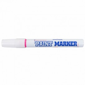 Маркер-краска MunHwa 4 мм, розовая, нитрооснова