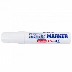 Маркер-краска MunHwa «Jumbo» 15 мм, белая, нитрооснова