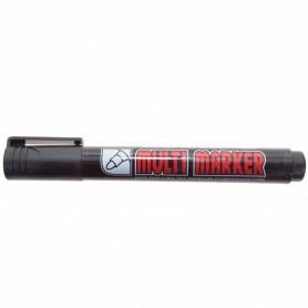 Маркер перманентный Crown «Multi Marker» 3 мм, черный, пулевидный