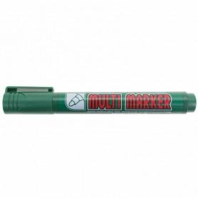 Маркер перманентный Crown «Multi Marker» 3 мм, зеленый, пулевидный