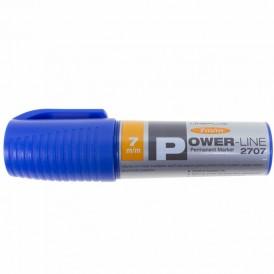 Маркер перманентный промышленный Line Plus «PER-2707» 7 мм, синий, скошенный