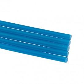 Стержни клеевые REXANT Ø 7 мм, 100 мм, синие (6 шт./уп.) (блистер)