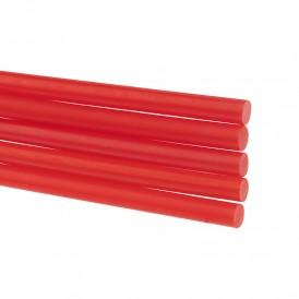 Стержни клеевые REXANT Ø 7 мм, 100 мм, красные (6 шт./уп.) (блистер)