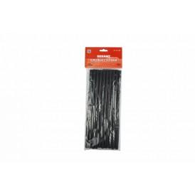 Клеевые стержни d=11,3 мм, L=270 мм, черные (10 шт.) REXANT