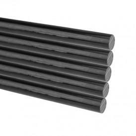Стержни клеевые REXANT Ø 11 мм, 270 мм, черные, 1 кг (0.5 кг + 0.5 кг) (пакет)