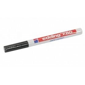 Маркер Edding-780 эмаль 0.8 мм (для рисунка печатных плат) чёрный