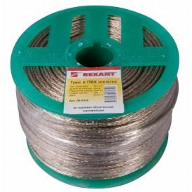 Трос стальной в ПВХ изоляции d=3мм Rexant 09-5330