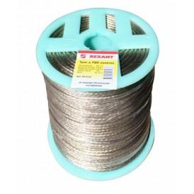 Трос стальной в ПВХ изоляции d=3.5мм Rexant 09-5335