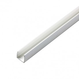 Короб пластиковый для Гибкого Неона 12х26, 1м 104-421  NEON-NIGHT