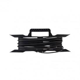 Удлинитель на рамке ПВС 2х0,75 мм², 10 м., черный  REXANT