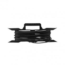Удлинитель на рамке ПВС 2х0,75 мм², 20 м., черный  REXANT