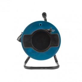 Удлинитель на катушке ПВС 2х0,75 мм², 50 м., оранжевый (газон)  REXANT
