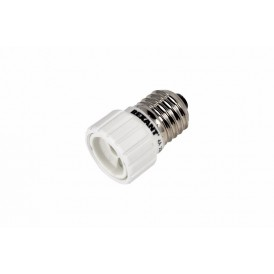 Переходник цокольный E27-GU10 белый REXANT