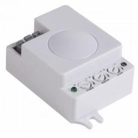 Датчик движения потолочный микроволновый ДДПМ 02, 180 (гориз)/360 (верт), 1200 Вт, 10-2000 Лк, 3-10 м, 10-900 сек. 5,8 ГГц REXANT