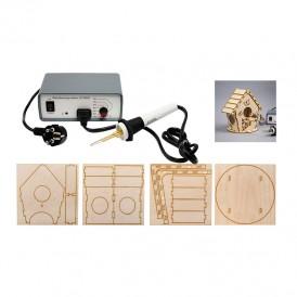 Набор для выжигания (аппарат и 3D модель