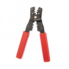 Кримпер для обжима автоклемм изолированных и неизолированных 0. 10-6. 0 мм² (ht-202B)