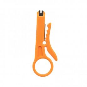 Инструмент для заделки и обрезки витой пары MINI (ht-318M) REXANT