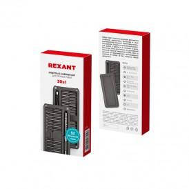 Набор отверток для точных работ REXANT XA-02, 25 предметов