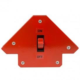 Магнитный угольник-держатель для сварки,  отключаемый на 3 угла,  усилие 11, 3 кг REXANT