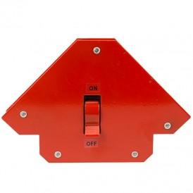 Магнитный угольник-держатель для сварки,  отключаемый на 3 угла,  усилие 23 кг REXANT