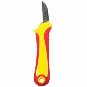 Нож монтажника,  нержавеющая сталь,  прямое лезвие REXANT