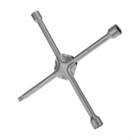 Ключ-крест баллонный REXANT 17х19х21 мм, под квадрат 1/2, усиленный, толщина 16 мм