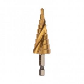 Сверло по жести ступенчатое «ТИТАН» REXANT,  4, 0-20, 0 мм