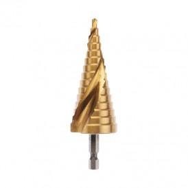 Сверло по жести ступенчатое «ТИТАН» REXANT,  4, 0-32, 0 мм