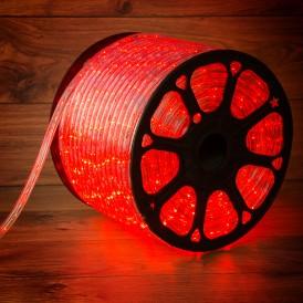 Дюралайт LED, постоянное свечение (2W) - красный, 36 LED/м, бухта 100м Neon-Night
