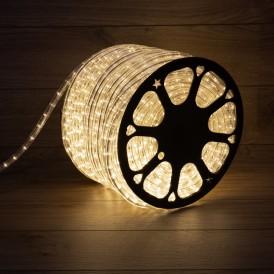 Дюралайт LED, постоянное свечение (2W) – теплый белый, 36 LED/м, бухта 100 м