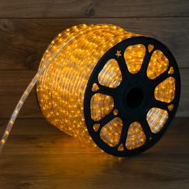 Дюралайт LED, свечение с динамикой (3W) - желтый, 36 LED/м, бухта 100м