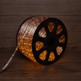 Дюралайт LED, свечение с динамикой (3W) - желтый, 24 LED/м, бухта 100м