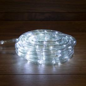 Дюралайт LED, свечение с динамикой (3W), 24 LED/м, белый, 14м