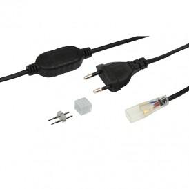 Установочный комплект для LED ленты 220 В 6.5x13 мм, до 100 м