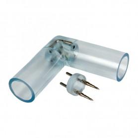 L - коннектор для двухжильного дюралайта ∅13мм (цена за 1 шт.)
