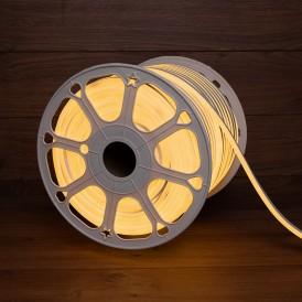 Гибкий неон LED SMD 8х16 мм, теплый белый, 120 LED/м, бухта 100 м