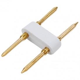 Разъем-иглы для соединения гибкого неона формы D (16х16 мм) на шнур/коннектор (цена за 1 шт.)