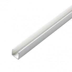 Короб пластиковый для гибкого неона 15х26мм, длина 1 метр (цена за 1 шт.)
