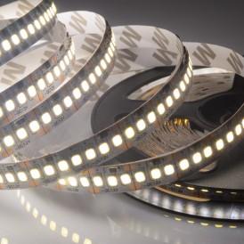 LED лента 12 В, 10 мм, IP23, SMD 2835, 240 LED/m, цвет свечения белый (6000 К)