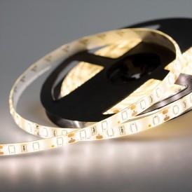LED лента 12 В, 12 мм, IP65, SMD 5730, 60 LED/m, 12 V, цвет свечения теплый белый (3000 K)