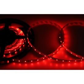 LED лента открытая, 8 мм, IP23, SMD 2835, 60 LED/m, 12 V, цвет свечения красный
