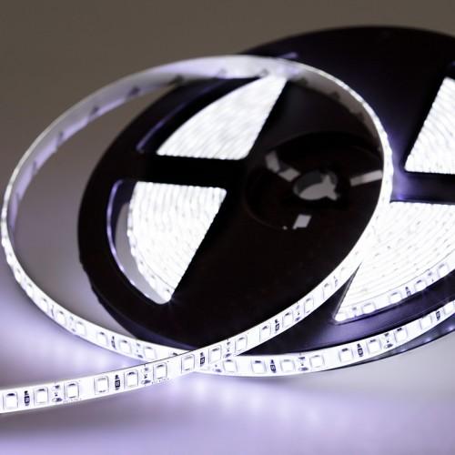 LED лента силикон, 8 мм,  IP65, SMD 2835, 120 LED/m, 12 V, цвет свечения белый