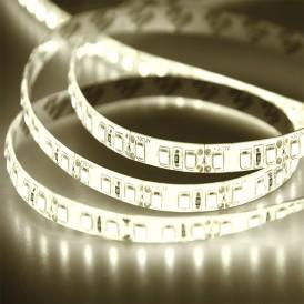 LED лента силикон, 10 мм,  IP65, SMD 2835, 120 LED/m, 12 V,  цвет свечения теплый белый, бухта 100 м