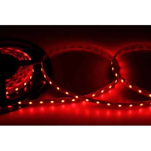 LED лента открытая, 10 мм, IP23, SMD 5050, 60 LED/m, 12 V, цвет свечения красный