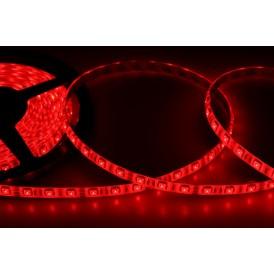 LED лента силикон, 10 мм, IP65, SMD 5050, 60 LED/m, 12 V, цвет свечения красный