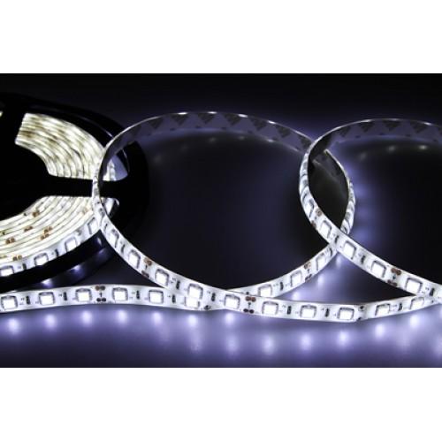 LED лента силикон, 10 мм, IP65, SMD 5050, 60 LED/m, 12 V, цвет свечения белый