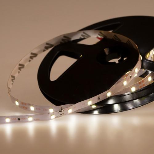 LED лента 24 В, 8 мм, IP23, SMD 2835, 60 LED/m,  цвет свечения белый (6000 К)