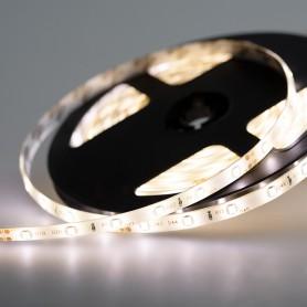 LED лента 24 В, 8 мм, IP65, SMD 2835, 60 LED/m, цвет свечения теплый белый (3000 К)